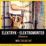 Elektromonter – Elektryk – Niemcy
