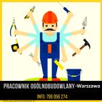 Pracownik Ogólnobudowlany – Warszawa