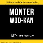 Monter wodno – kanalizacyjny/Pomocnik