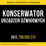 Konserwator Urządzeń Dźwigowych – Poznań