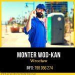 Monter wod-kan – Pomocnik Montera – Wrocław