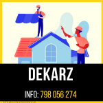 Dekarz – Warszawa – praca stacjonarna