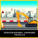 Operator Koparko – Ładowarki